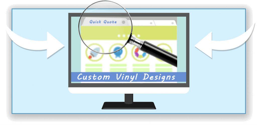 Quick Quote Custom Vinyl Signs